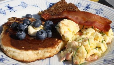 Amerikanske morgenmadspandekager